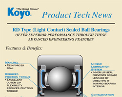 koyo-rd-type-light-contact-sealed-ball-bearings-1