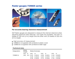 skf-spherical-roller-bearing-feeler-gauges