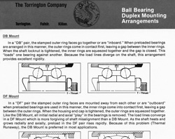 torrington-ball-bearing-duplex-mounting-arrangements